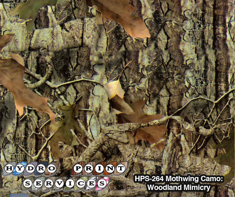 HPS-264 Mothwing Camo Woodland Mimicry