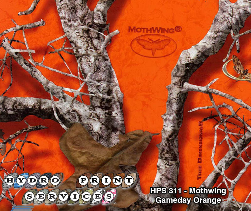 HPS-311 Mothwing Camo: Gameday Orange