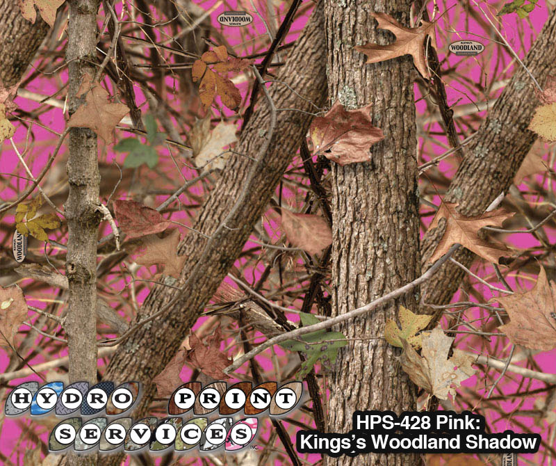 HPS-428-King's Woodland Shadow PINK