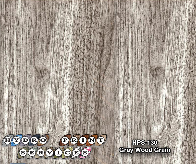 HPS-130 Gray Wood Grain