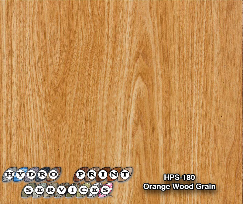 HPS-180 Orange Woood Grain