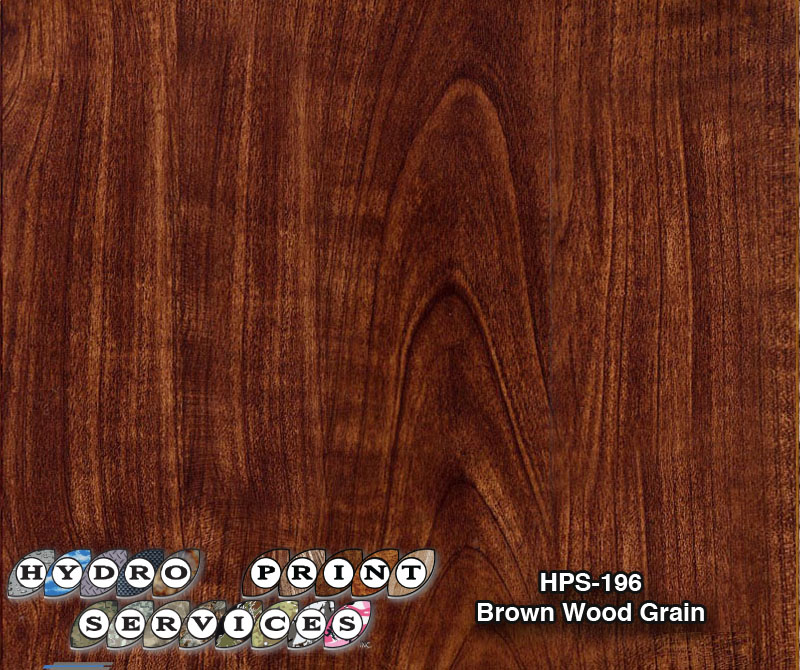HPS-196 Brown Wood Grain