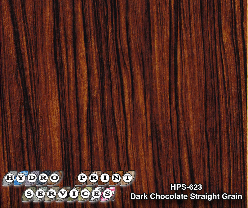 HPS-623 Dark Chocolate Straight Grain