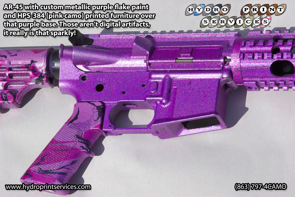 purple metallic AR
