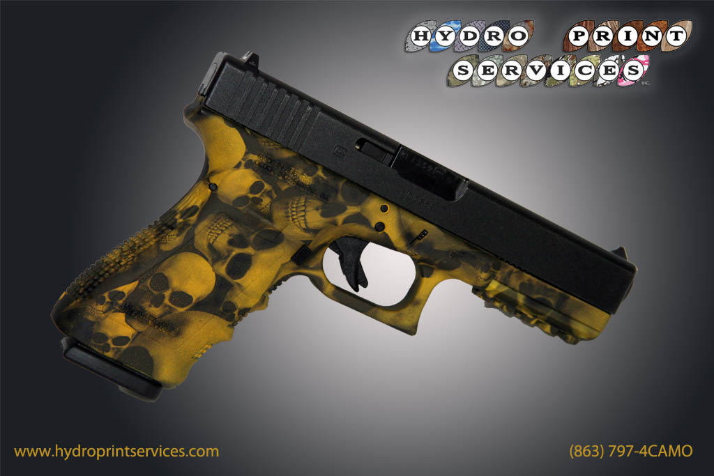 Yellow Skullz Glock 21