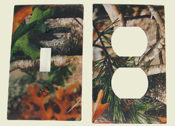 Vista Camo outlet plates